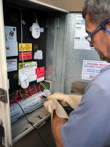 Hans from Hans Electrical Service Bribie Island - Switch Box Upgrade